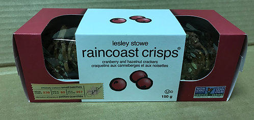 Raincoast Crackers - Cranberry & Hazelnut