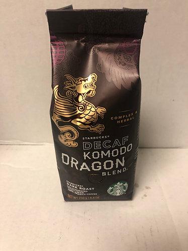 Starbucks Decaf Komodo Dragon Blend