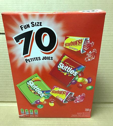 Skittles & Starburst - Fun Size