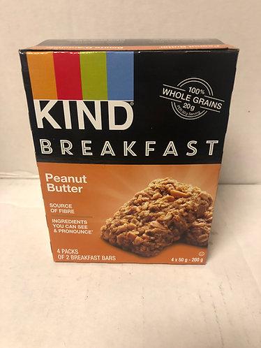Kind Breakfast Bar - Peanut Butter