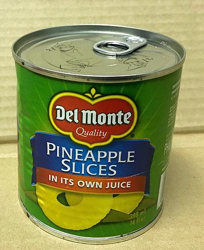 Del Monte Pinapple Slices - 398mL