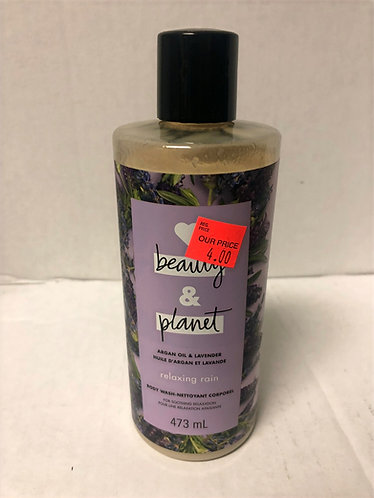 Beauty and Planet Body Wash - Argan Oil and Lavender