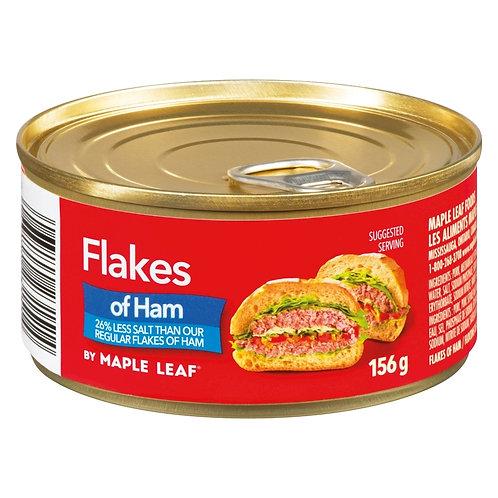 Maple leaf flakes of Ham - Less Salt