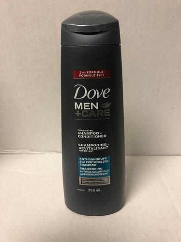 Dove Men Anti-Dandruff 2 in 1 Shampoo + Conditioner