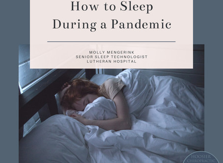 How to Sleep During a Pandemic