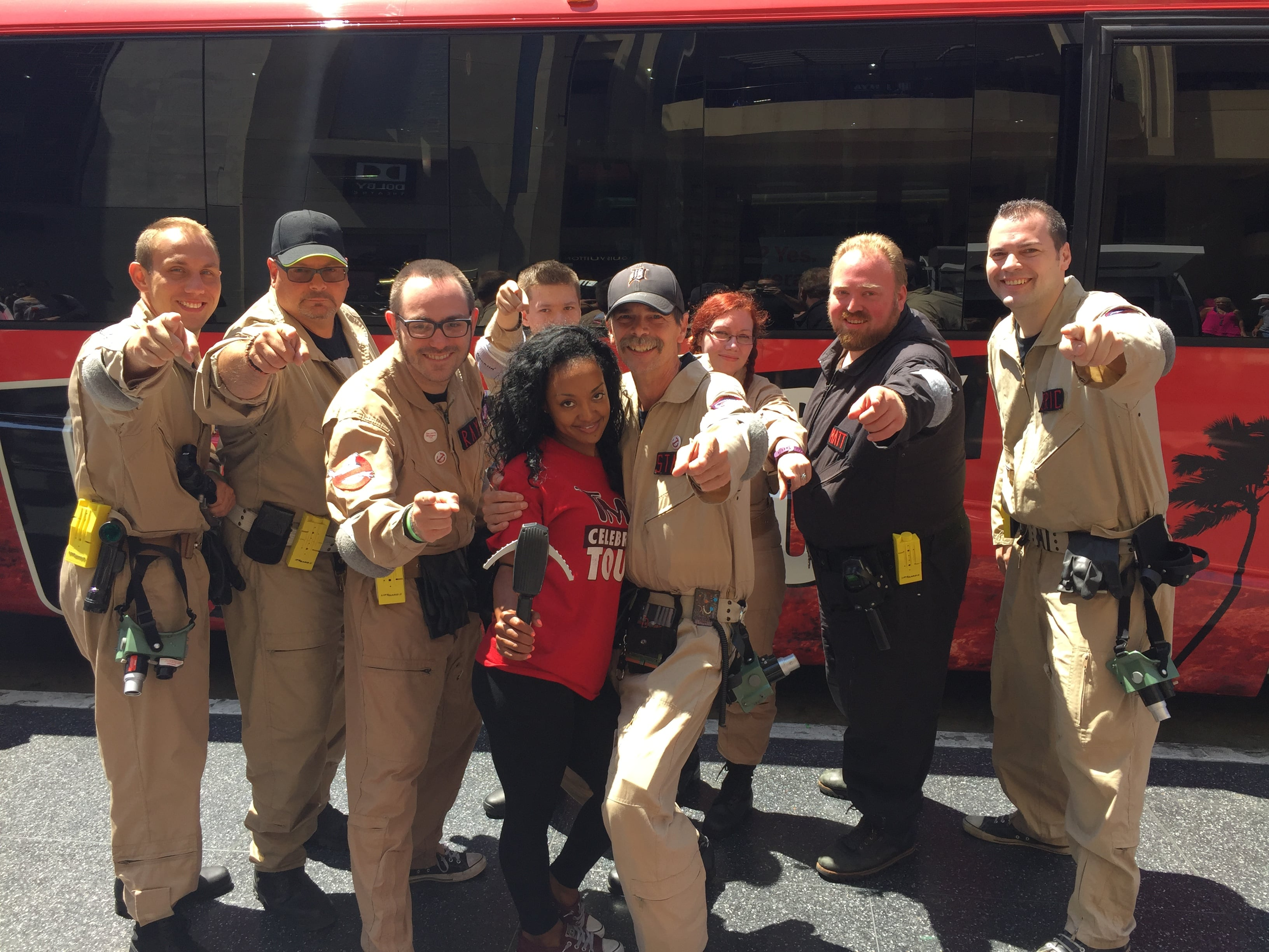Charter Group with Ghostbusters