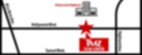 TMZ Tour Center on Map