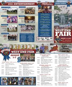 2021 Union Co West End Fair Brochure