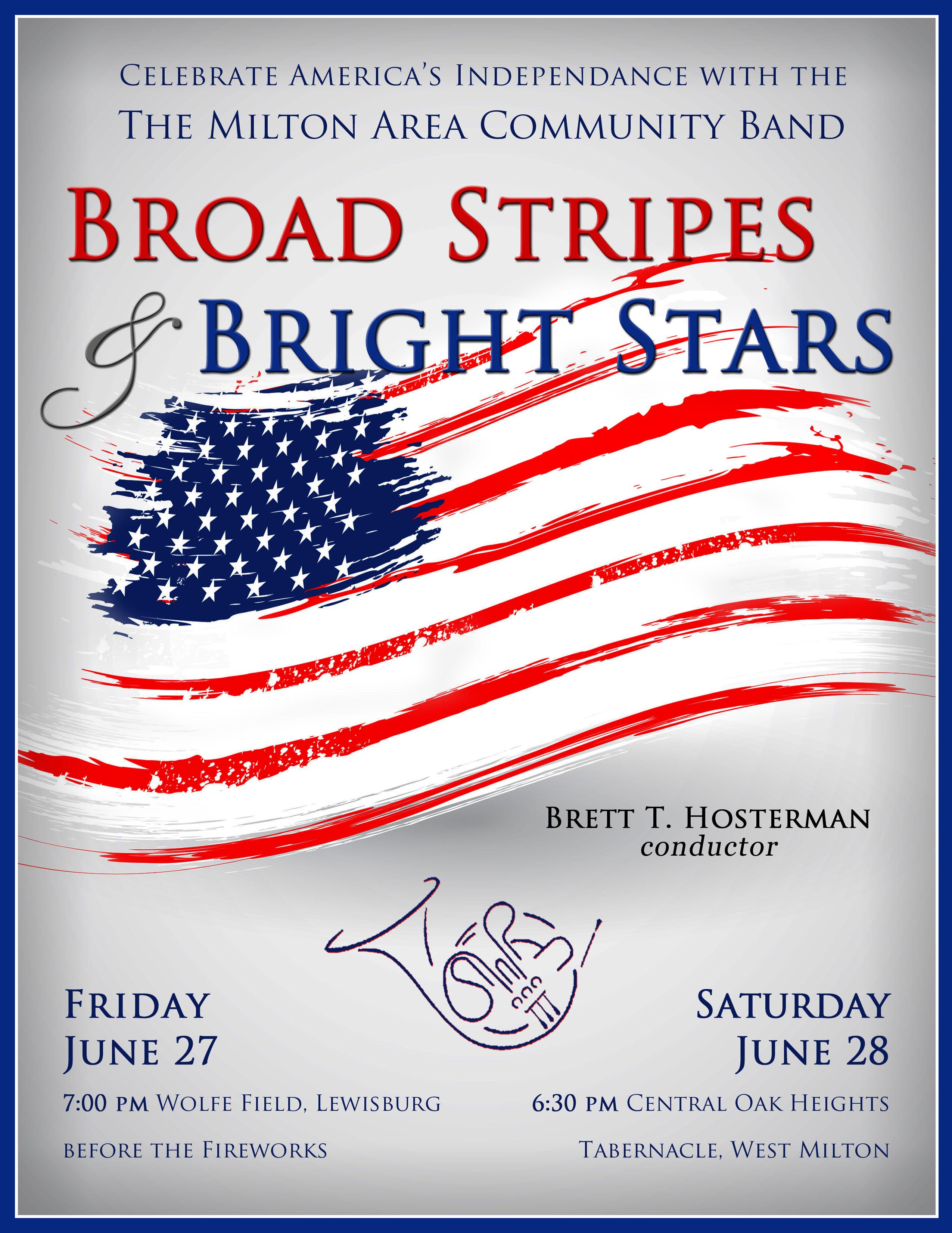 2014 Patriotic Concert Poster