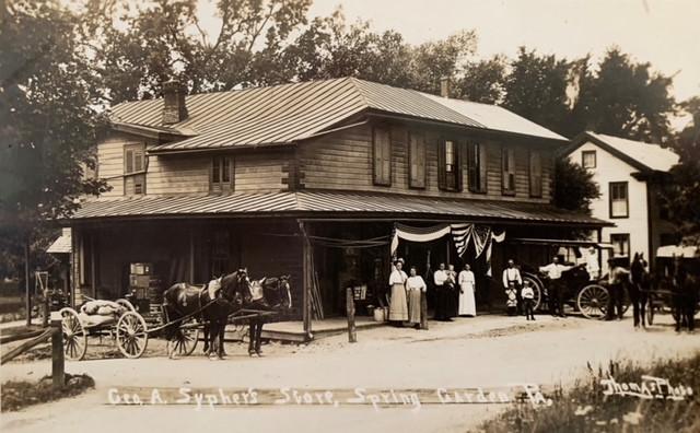 Sypher's Store Spring Garden afer 1912 .JPG