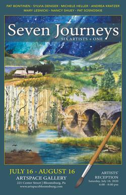 Seven Artists Journey's Poster