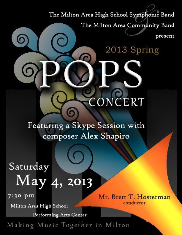 2013 POPS Concert Poster