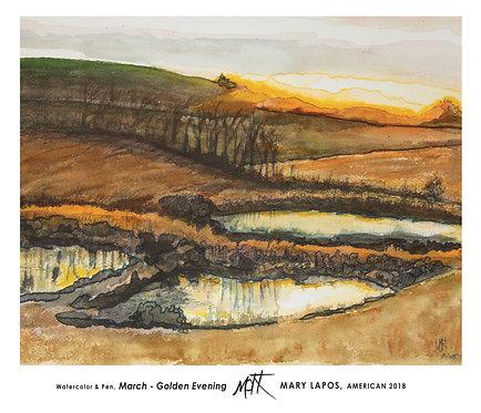 March: Golden Evening