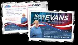 Campaign Materials - Katie Evans