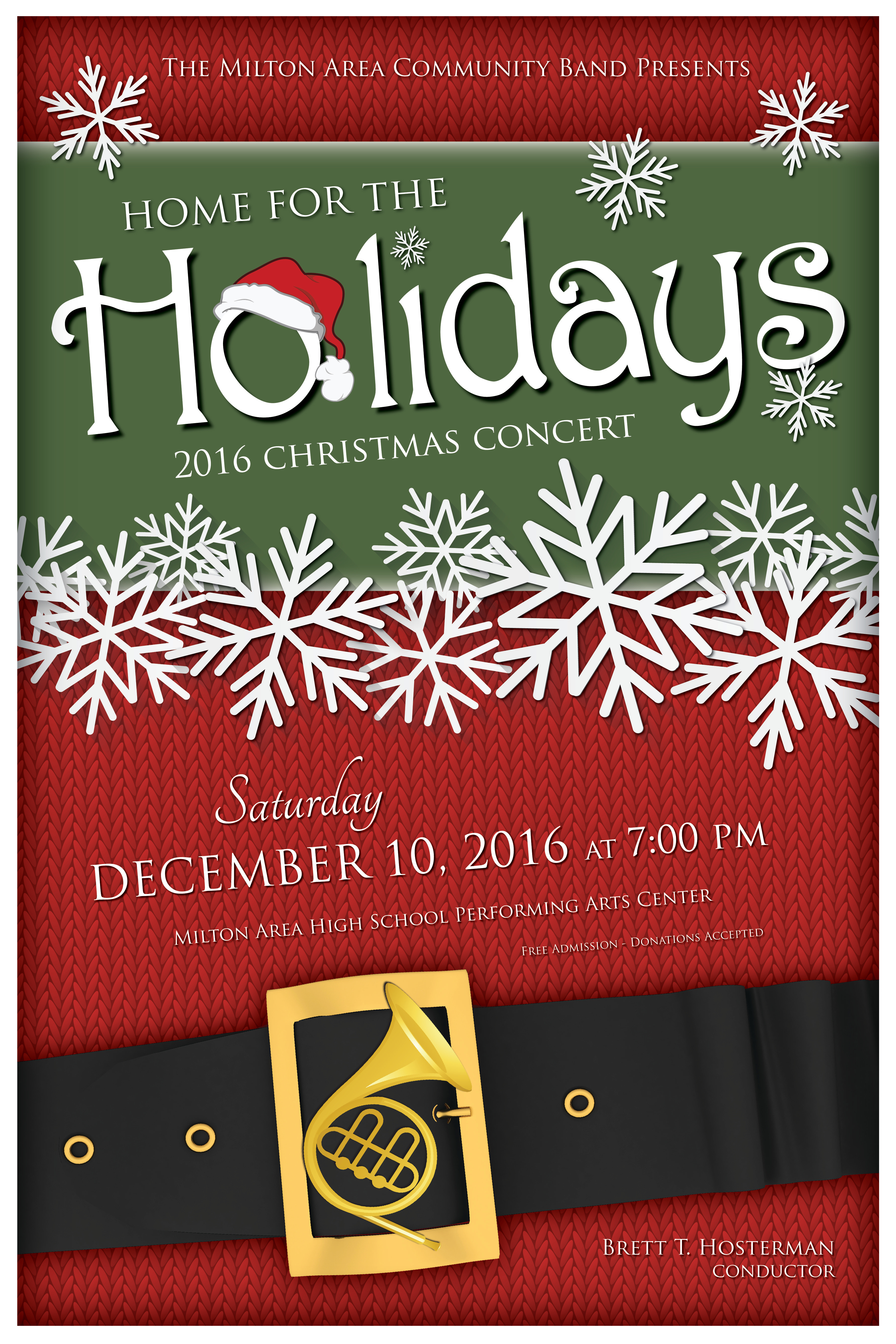 2016 Holiday Concert