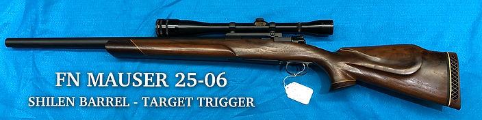 FN Mauser 25-06 Shilen - Target Trigger
