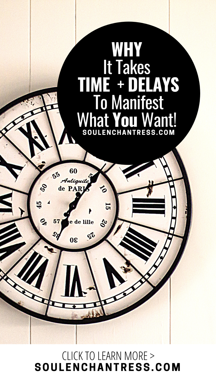 SoulEnchantress , Soul Enchantress, why does it take time to manifest?