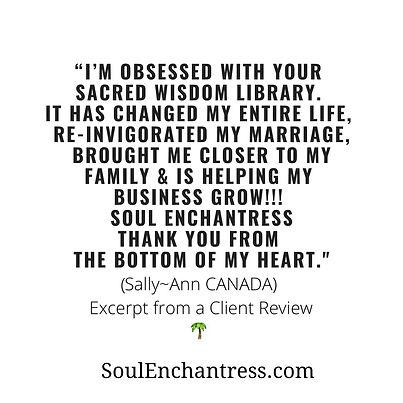 Soul Enchantress, ancestral healing, business psychic, business wellness programs, blissfu