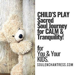 soul enchantress, meditation for kids