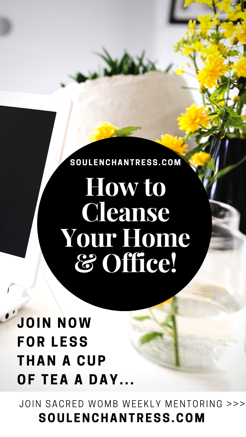 how to clear energy, cleansing your home and office, blessing your home and office, soul enchantress