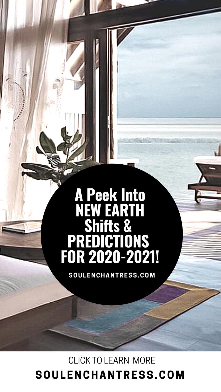 soul enchantress, new earth, energetic shifts, 2021 predictions