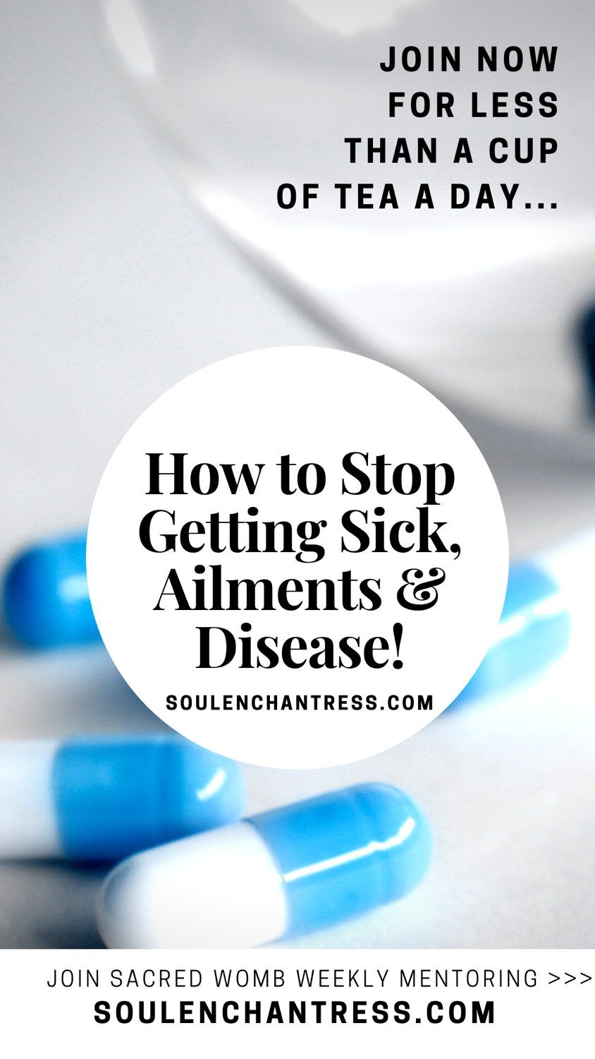 how to stop getting sick, what causes disease, soul enchantress