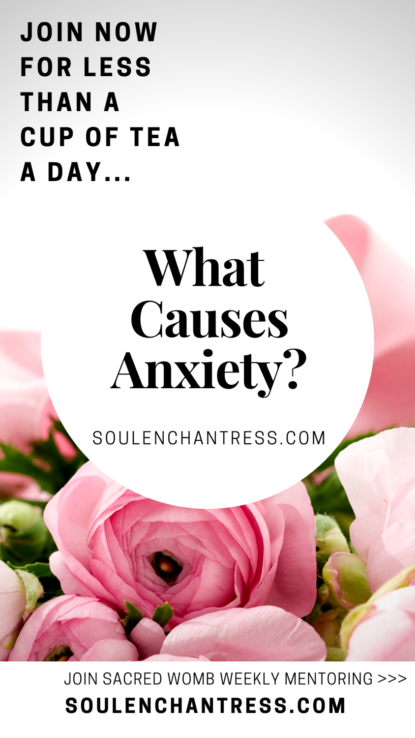 what causes anxiety, anxiety relief for introverts, soul enchantress, overcoming anxiety easily