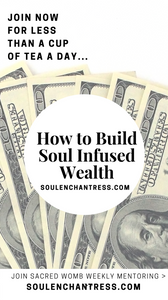 wealth building, soul infused wealth, soul enchantress