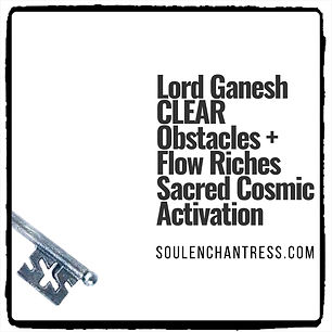 Ganesh, Clear Obstacles, soul enchantres