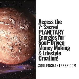 planetary energy, soul enchantress