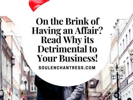 ARE YOU ABOUT TO HAVE AN AFFAIR?