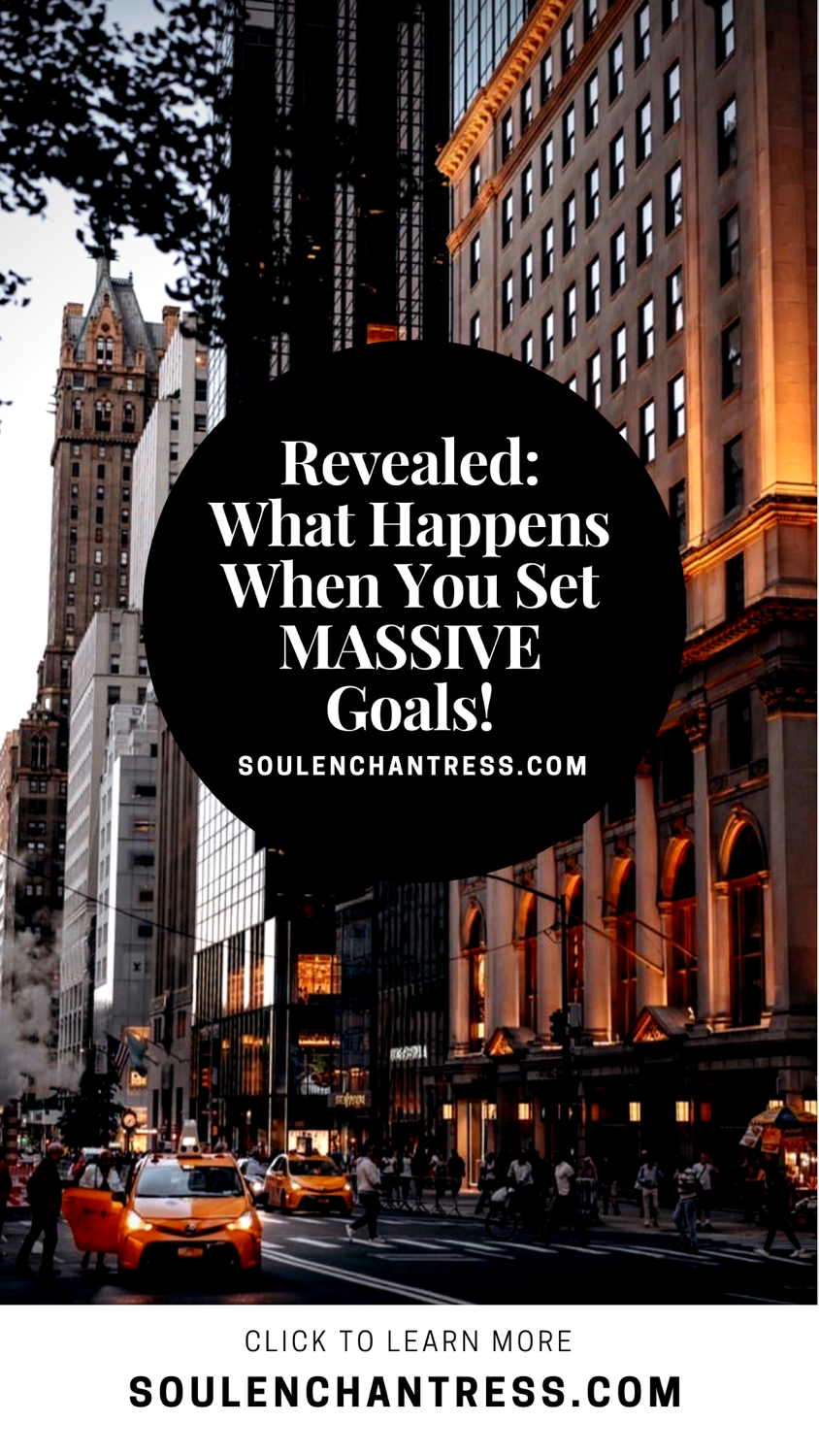 how to set huge goals, how to achieve goals easily, how to make life more fulfilling, men's health, how to increase sales, how to attract more clients, how to attract more customers , business wellness programs, soul enchantress,