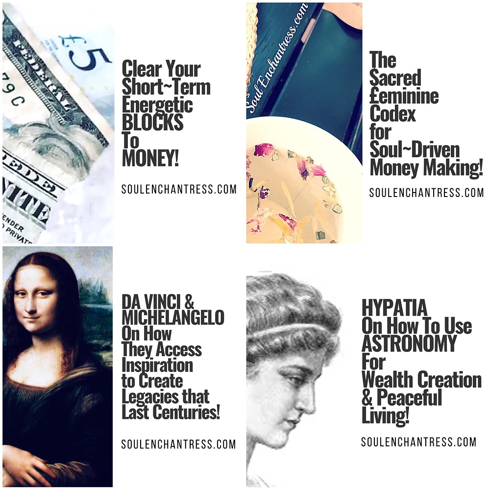 Soul Enchantress, sacred wisdom library, introverts and money, introvert struggles, introvert entrepreneurs, business psychic