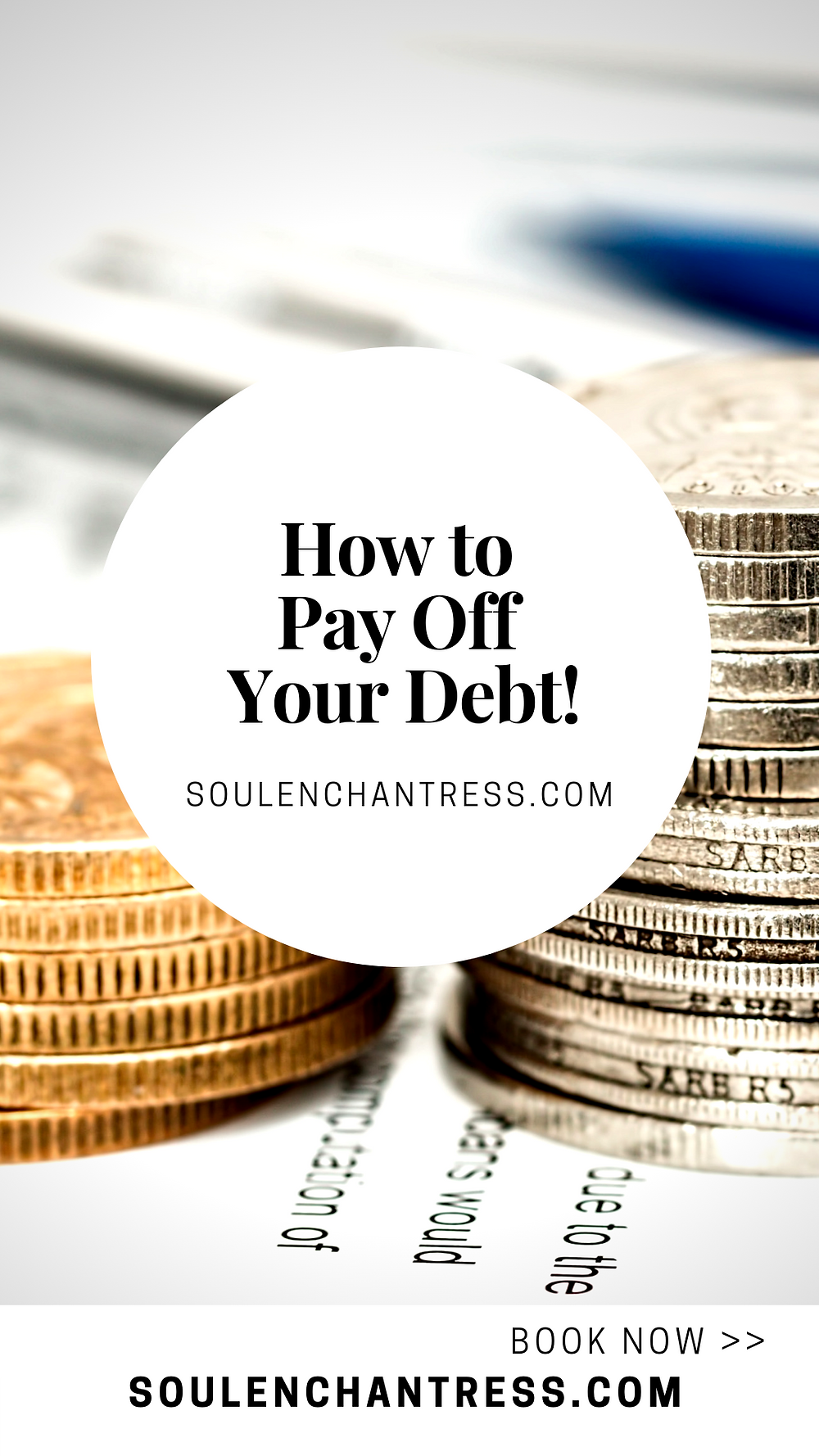how to pay off credit card debt, clearing debt, attract money, soul enchantress