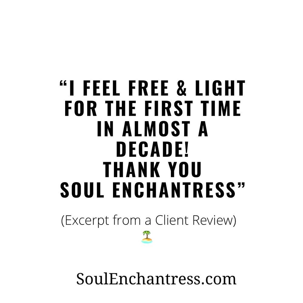 Soul Enchantress, ancestral healing