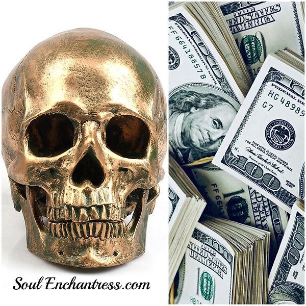 Soul Enchantress, sacred ancestors, sacred death, sacred money, sacred wisdom, sacred mentors, sacred wealth