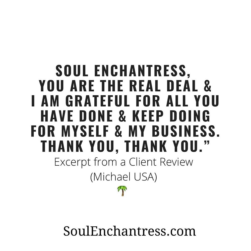 Soul Enchantress, business psychic, psychic medium, ancestors, muerte, overcoming limiting beliefs about money, introverts and money, introvert entrepreneurs, sorceress, seer, shaman, starseeds
