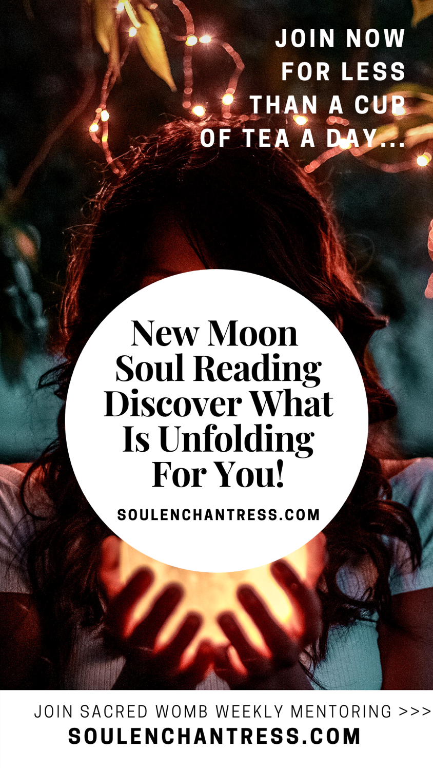 new moon soul reading, what does my future hold, soul enchantress, shaman, seer