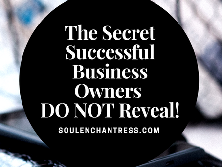 A SECRET SUCCESSFUL ENTREPRENEURS, & BUSINESS OWNERS DO NOT REVEAL!