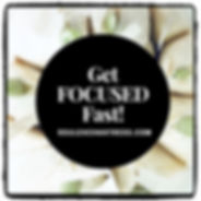 how to get focused, how to overcome conf