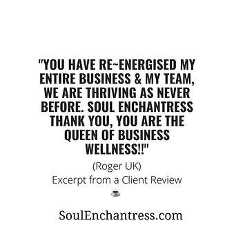 soul enchantress, business wellness