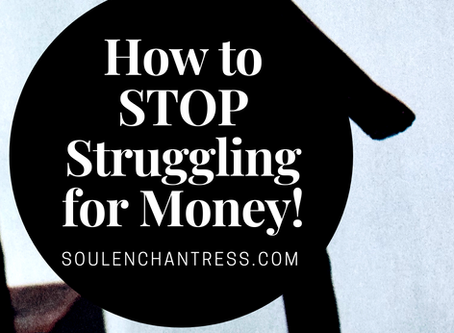 HOW TO STOP STRUGGLING FOR MONEY & MONEY HABITS OF THE RICH