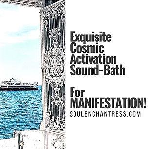 soul enchantress, manifestation sound bath, wisdom codes, sacred money, sacred wealth