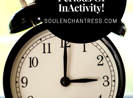 The Art Of Cyclical Living & What To Do During Periods of InActivity