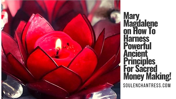 soul enchantress, mary magdalene, sacred