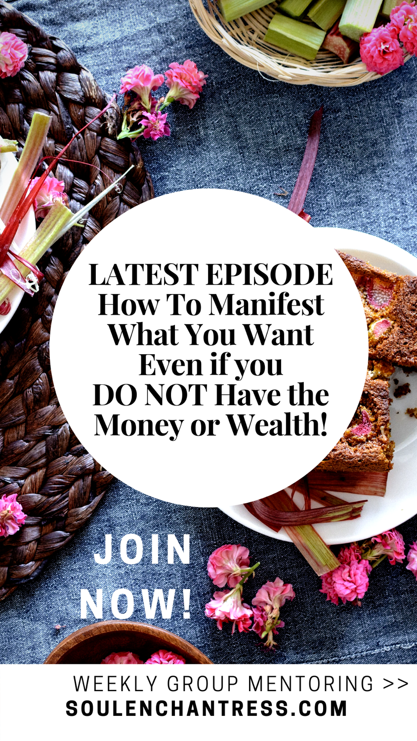 how to manifest what you want, nsoul enchantress, manifestation mentor, how to clear energy blocks, how to clear money blocks