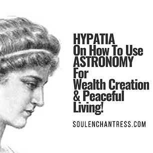 hypatia, soul enchantress, astrology, sa