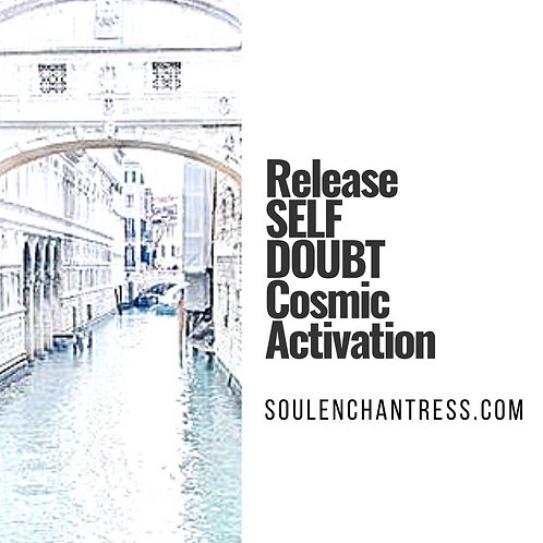 RELEASE SELF DOUBT ~ COSMIC SOUND HEALING + MORE