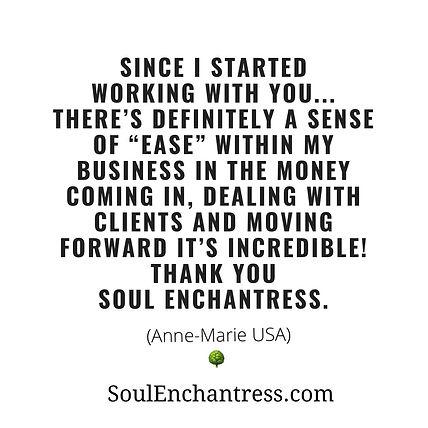 soul enchantress, introvert entrepreneur