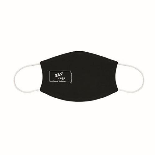 South Dakota FBLA Custom Black Mask